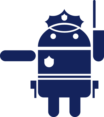 Android policeman icon