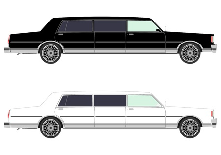 limo: Stretch limo set