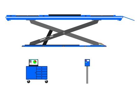 idraulico: Laboratorio sollevatore idraulico