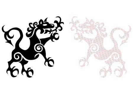 Royal lion tattoo