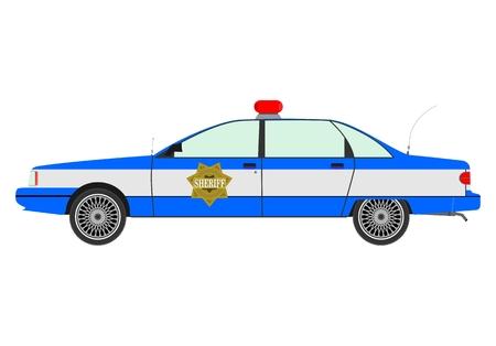 Police car Stock Vector - 23783361