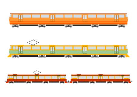 u bahn: Cartoon train Illustration
