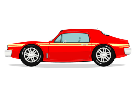 Muscle car  Vector Vector