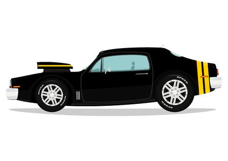Muscle car  Vector Vectores
