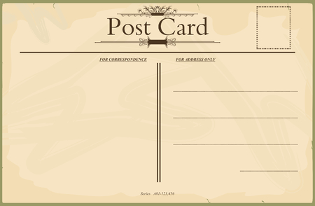 vintage blank postcard royalty free cliparts vectors and stock