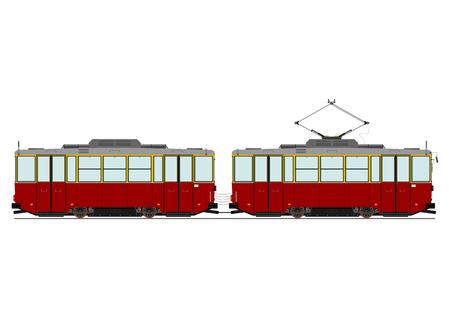 tramcar: Vintage tram.