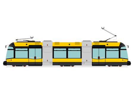 Modern tram