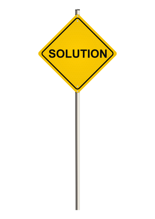 calm down: Solution on Road sign