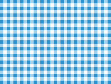 Background with checkered tablecloth. Each color is a separate shape and easy to change. Vector.