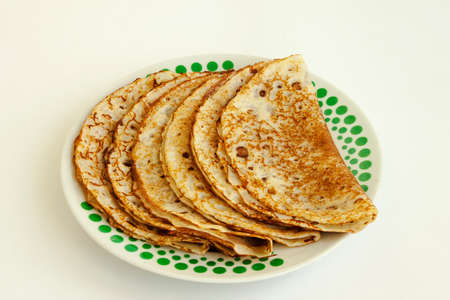 appetizing: Food. Tasty appetizing pancakes high-calorie from flour