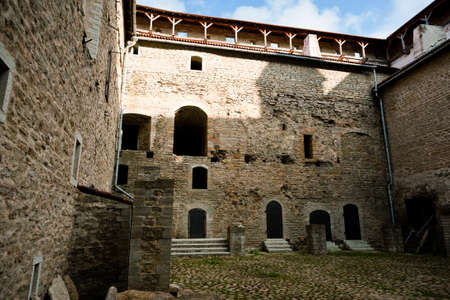 herman: Courtyard in castle of Herman in Narva