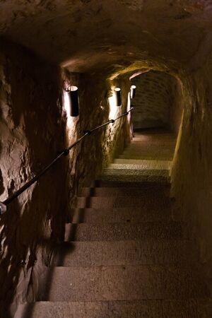 herman: Staircase inside tower of castle of Herman in Narva