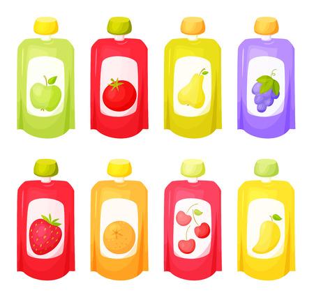 Juice package set.