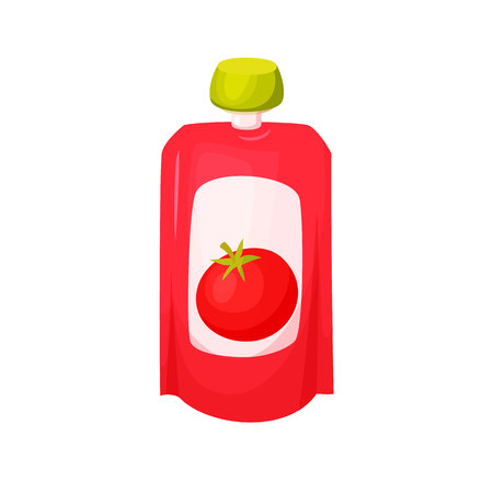gravy: Tomato juice package.