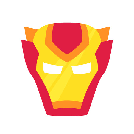 heroic: Super hero red mack. Superhero mask for face character in flat style. Masks of heroic, savior or superhero. Comic super hero mask vector illustration. Super hero photo props. Super hero face. Spider
