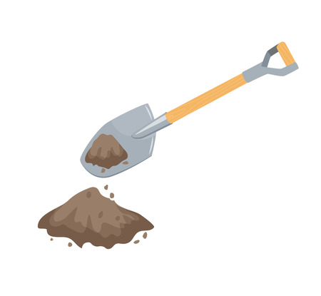 Dig with a spade