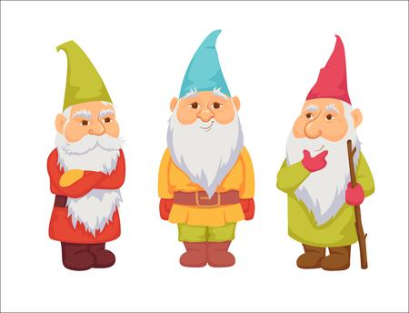 Gnomes vector set Stock Vector - 70130528