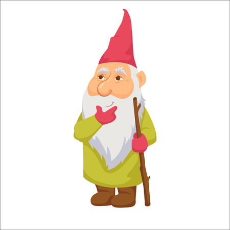 Gnomes. Thoughtful dwarf.