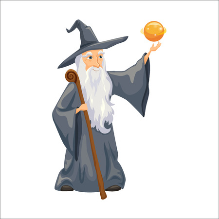 Wizard. Old man