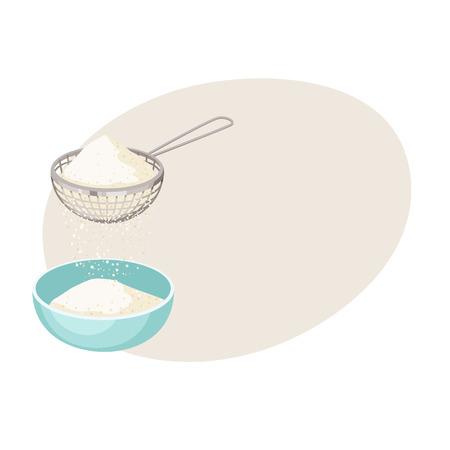 Flour sifter. Sieve