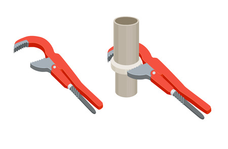 sewer: Tighten the nut adjustable wrench
