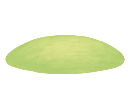 Green field of fresh grass isolated on white. Llawn hill background. Grassplot. Glade Illustration