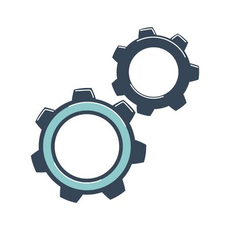 Gears are spinning. Concept of business processes, debugged system, actions 版權商用圖片 - 131978519