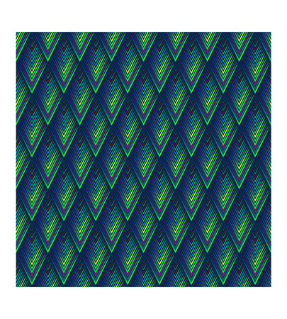 Geometric background grid abstract modern seamless texture background pattern, colored scales with a three-dimensional effect, consisting of rhombuses, using a blue sky tones, vector