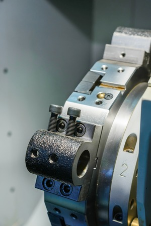 head for: Enpty cnc lathe tool turret. Rotating head for tool change.