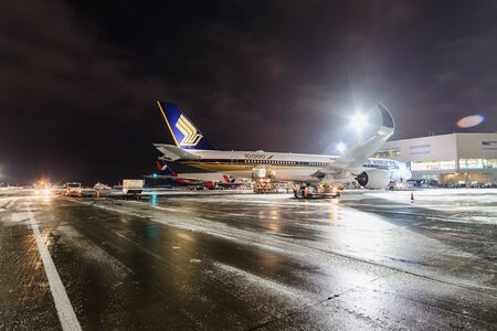 Airbus A350-900 9V-SMF Singapore Airlines Editorial