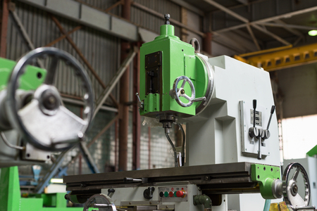 Mechanical vertical milling machine.