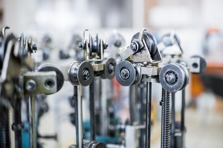 polea: Moderna máquina de trenzado.