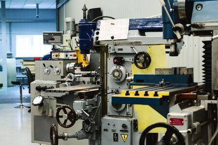 Machining shop, two vertical milling machine.