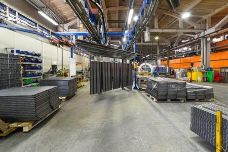 The interior of the metalworking shop. Reklamní fotografie
