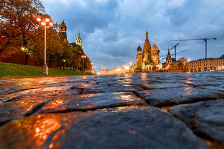 Moscow Kremlin, Vasilyevsky Descent near St. Basils Cathedral.