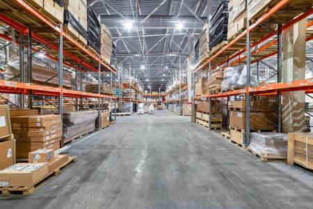 Entreprises industrielles et logistiques de grands entrepôts. Banque d'images