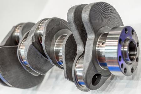 Crankshaft of an internal combustion engine Stock Photo