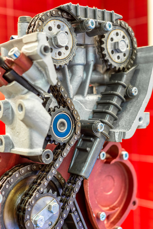 The chain of drive timing of the internal combustion engine