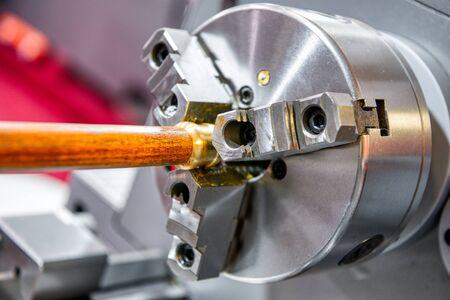 Lathe chuck, automatic clamping tool Archivio Fotografico