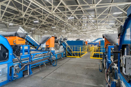 Equipment for automatic waste sorting.