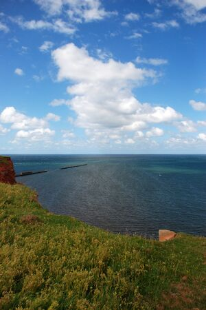 The cliffs of Helgoland  photo
