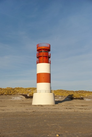 The lighthouse on the dune of Helgoland  photo