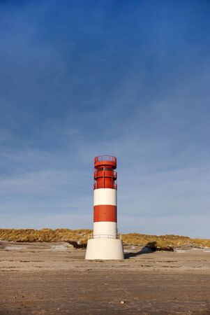 helgoland: The lighthouse on the dune of Helgoland