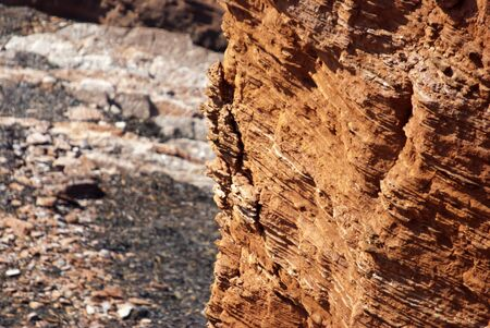 helgoland: the red cliffs of Helgoland