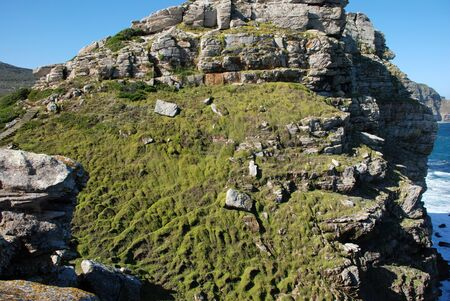 The cliffs of the Cape of Good Hope photo