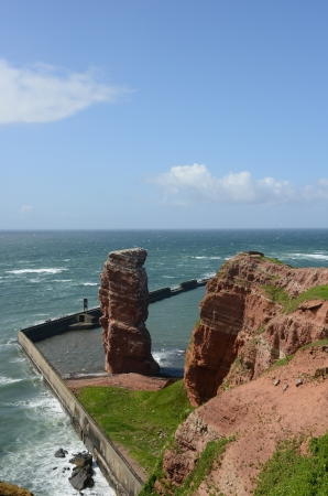 Island of Helgoland with the landmark Anna photo