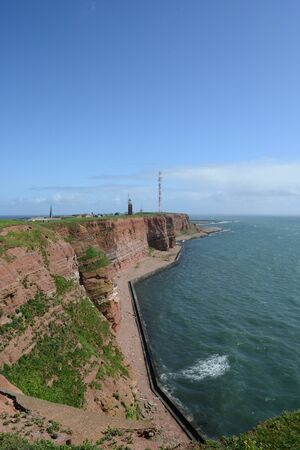 The red cliffs of Helgoland photo