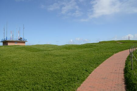 The way on top of Helgoland photo
