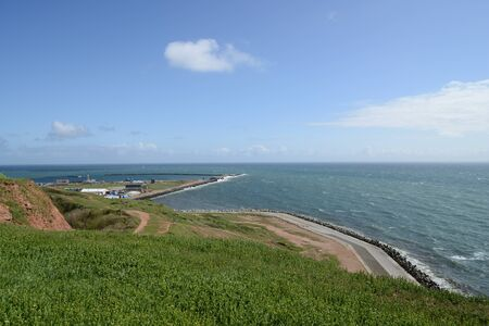 Helgoland overview Germany photo