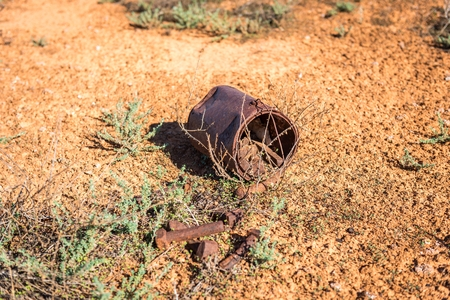 western australia: Bolt in Bucket Stock Photo
